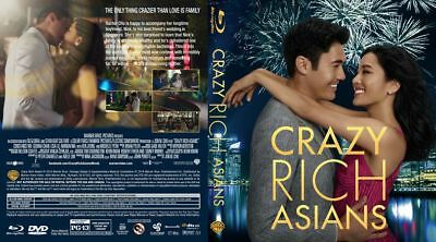 Crazy Rich Asians(2018) BLU-RAY ONLY!!! FAST SHIPPING!!!