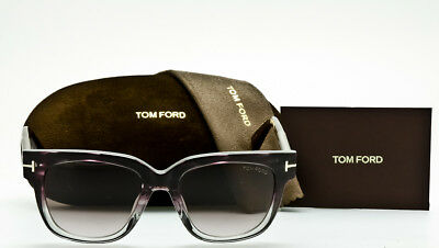 e29f1b71134c TOM FORD TRACY FT0436 83T Violet Stripe-Smoke Fade-Purple Gradient 53mm  TF436