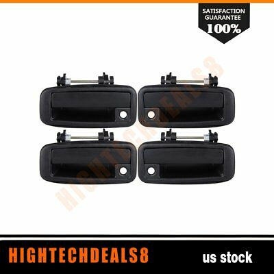 Door handles Front&Rear Left&Right 4Pcs for 1993 Toyota Corolla AWD