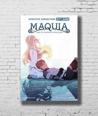 Hot Gift Poster Maquia When the Promised Flower Blooms Japan Anime 40x27 F-2528