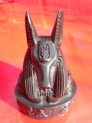 Ancient Egypt Egyptian Anubis Deity Statue Figure God