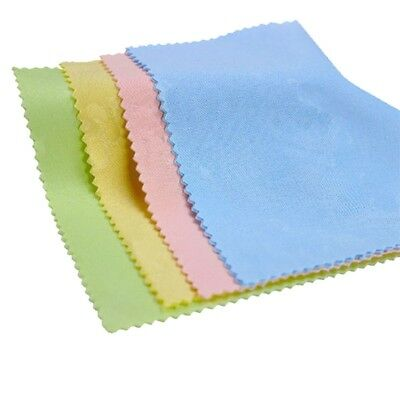 10x Microfiber Soft Cleaning Cloth For Mobile Phone Screen Glasses Jewelry