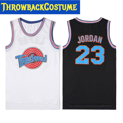 93e89afabdf Michael Jordan #23 Space Jam Tune Squad Basketball Jersey S M L XL XXXL 2  Colors