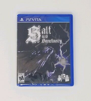 Salt and Sanctuary (PlayStation PS Vita) Limited Run Games - Factory Sealed