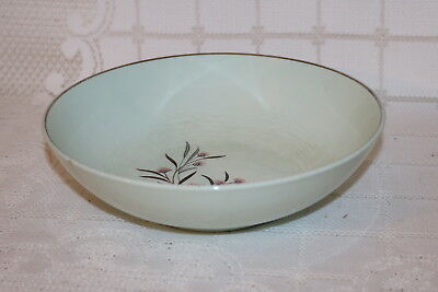 Universal Pottery STRAWFLOWER Ballerina Mist USA Round Vegetable Serving Bowls 2