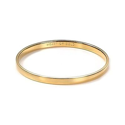 c77141dbbddbc KATE SPADE HEART of Gold Bangle Bracelet NWT Perfect for the Perfect Heart