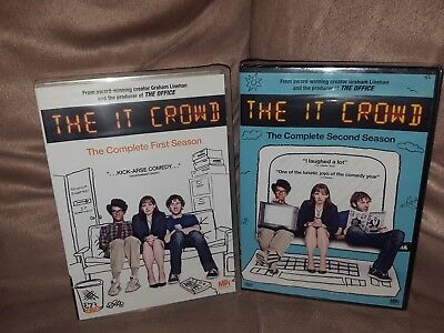 Th IT Crowd Complete First And Second Season DVD