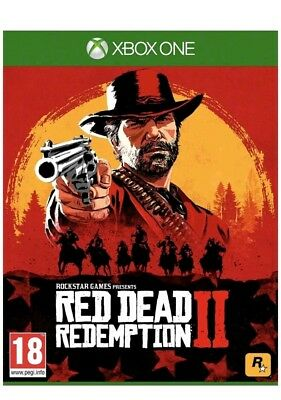 Red Dead Redemption 2 Xbox One Game - Brand New Sealed (Fast Dispatched)