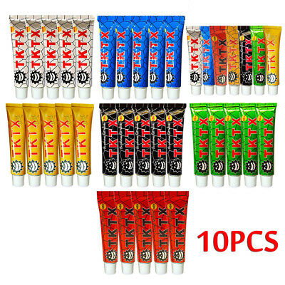 38%~40% Fast Numbing Cream Tattoo Body Anesthetic Numb Cream Semi Permanent 10pc