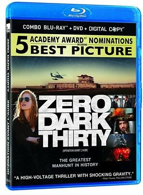 Zero Dark Thirty / Opération avant l'aube (Bilingual) [Blu-ray+DVD+Digital]NEW**