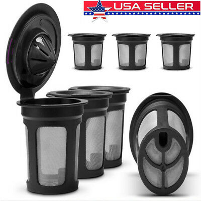 3PC Refillable Reusable Single K-Cups Filter Pod System for Keurig Coffee Makers
