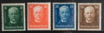 Germany 1927 German Emergency Relief: 80th Birthday of Hindenburg MNH