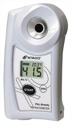 ATAGO Handy Pocket alcohol concentration Refractometer Pal-Brandy NEW from JPN