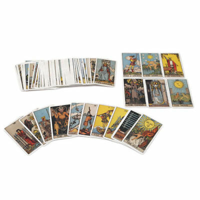 78x Cards Board Game English Smith Waite Tarot Cards Future Fate Forecasting Hot