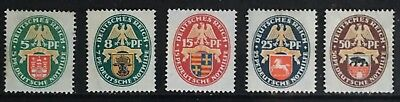 Germany 1928 German Emergency Relief: Coat of Arms MNH/MLH