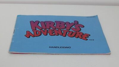 Kirby's Adventure (NES manual only)