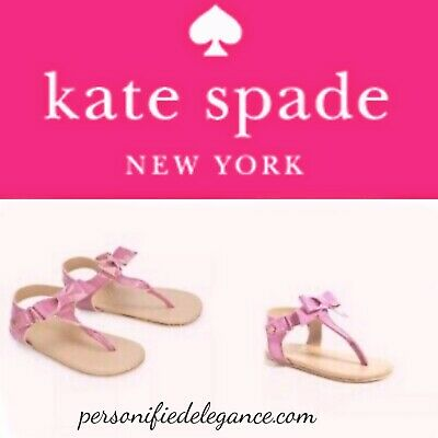 NEW Kate Spade Baby Bow Sandals 3-6 Months $42