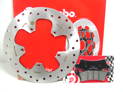68B40798 Set Brake Disc Brembo Front + Pads Aprilia Atlantic 125 2009