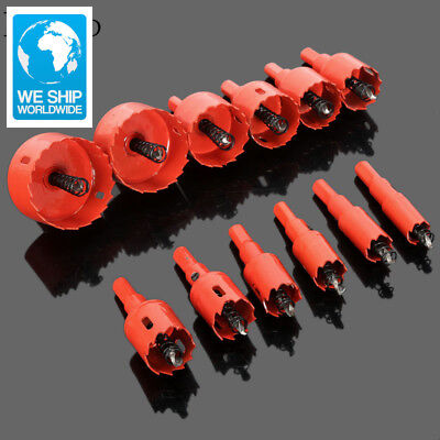 1Pc 16mm-53mm Drill Bit Hole Saw Twist Drill Bits Cutter Power Tool Metal Holes