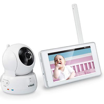 VTech VM991 Wireless WiFi Video Baby Monitor with Remote Access App, 5-inch.....