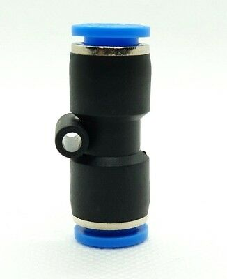 Equal Straight Connector Pneumatic Push-In Fitting For Air. Metric and BSP Sizes