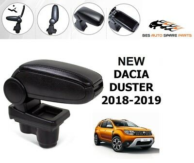 Armrest Centre Console Speacially For Dacia Duster 2018-2019 Black Leatherette