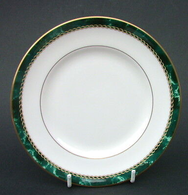 Royal Worcester Medici Green Side or Bread Size Plates 16cm Dia - Look in VGC