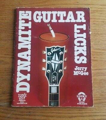 Dynamite Guitar Locks by Jerry McGee 1970