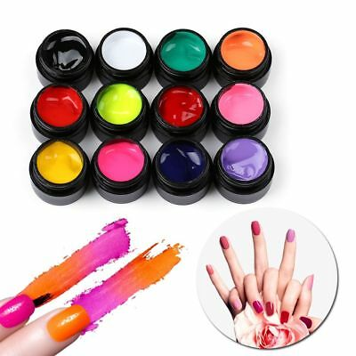Carved Manicure Decor Acrylic Draw Painting Nail Art Gel Nail Polish Colored