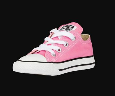 c5a5ca06bf07 Converse Chuck Taylor All Star Low Top Pink Canvas Infant Toddler Shoes 5  Lace