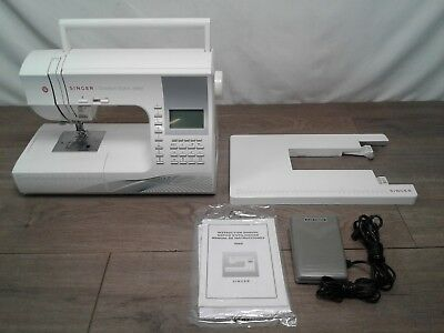 Singer Quantum Stylist 9960 Computerized Portable Sewing Machine with 600-Stitch