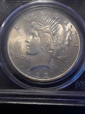1923 $1 Peace Silver Dollar MS64 PCGS