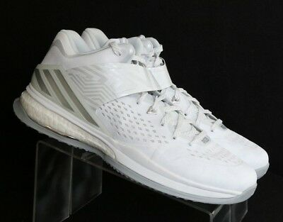 huge discount d03b3 74a8f Adidas RG3 Energy Boost Athletic Running Sneaker White Silver Mens US 11