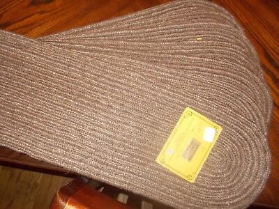 Braided Jute Earth Rugs Stair Treads Oval New Many Colors 8 50