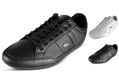 77beb92741df Lacoste Chaymon BL 1 Mens Casual Shoes Lace Up Leather Fashion Sneakers
