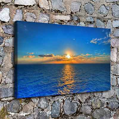 """12""""x20"""" Sunrise HD Canvas Print Painting Home Decor room Poster Wall Art Picture"""