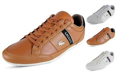 5d5bc79944b27 Lacoste Chaymon 119 1 U Mens Casual Shoes Lace Up Leather Fashion Sneakers