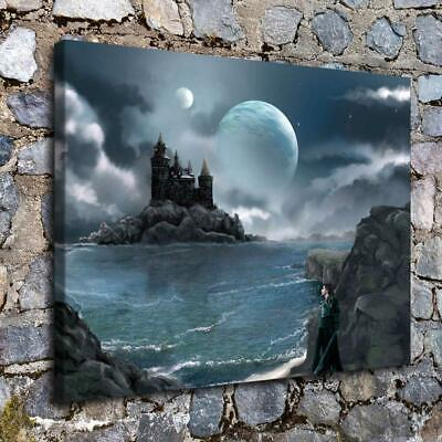 Castle 2 HD Canvas Print Painting Home Decor room Wall Art Picture 10202