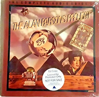 "Alan Parsons Box ""The Complete Audio Guide ."" DARK SIDE OF THE MOON SP 140 NEW"