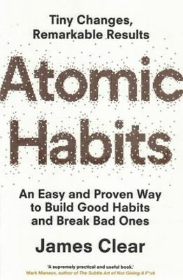 Atomic Habits by James Clear NEW book by James clear , paperback book new