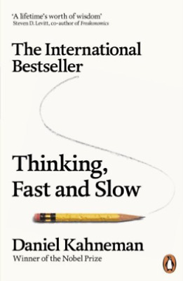 Thinking, Fast and Slow  BOOK NEW paperback edition