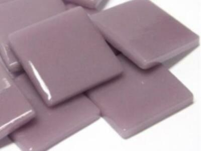 Lilac Gloss Glass Mosaic Tiles 2.5cm - Art Craft Supplies