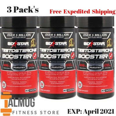 Testosterone Booster 60 Caplets