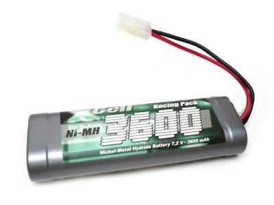 7,2 X-Cell Power Racing Pack 7,2V 3600mAh NI-MH Akku