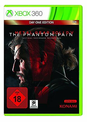 Jeu Xbox 360 Metal Gear Solid V 5 - The Phantom Douleur - Day One Edition