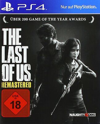PS4 the Last of Us Remastered Game for Playstation 4 New