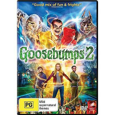 Goosebumps 2 Haunted Halloween Dvd, New & Sealed, 2019 Release, Free Post