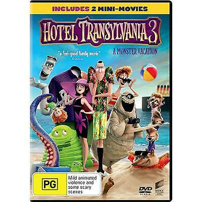 Hotel Transylvania 3 Dvd, New & Sealed, 2018 Release, Region 4, Free Post.