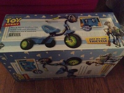 Disney Pixar Toy Story Just My Size Tricycle MIB Buzz and Woody