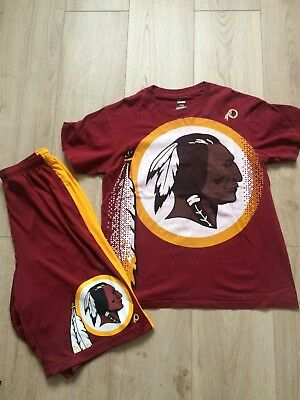 NFL Washington REDSKINS 90's  Medium T-shirt/ Short rap Vintage